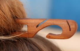 סיכת עץ לשיער