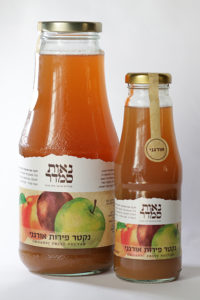 תערובת של שזיף, אפרסק, תפוח  ומשמש