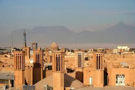 מגדלי צינון עתיקים בעיר יזד שבאיראן