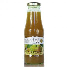 מיץ תפוחים אורגני