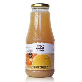 מיץ אשכוליות אורגני ליטר