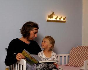 תאורת לילה לחדר ילדים